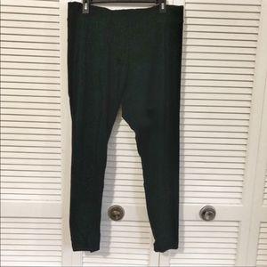 High-Waisted Black Leggings Sz 1X